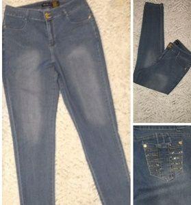 Classic Blue Girl denim blue jeans
